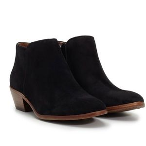 Sam Edelman • Petty Ankle Booties in Black • 5